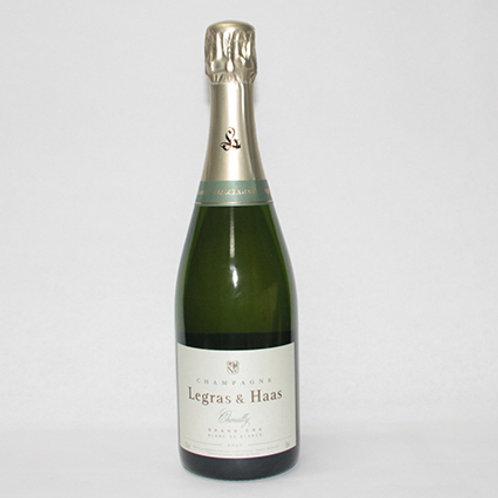 Legras & Haas Champagne Blanc de Blancs 75cl