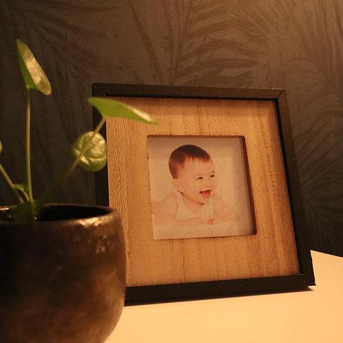 Fotolijst hout vierkant