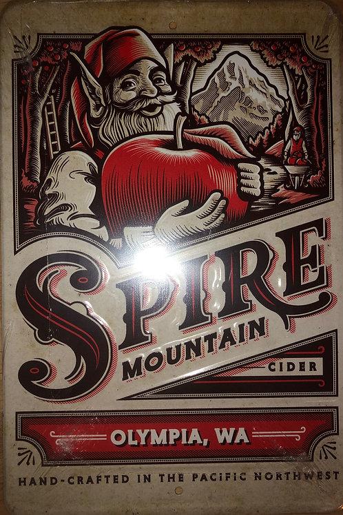 Spire Mountain Cider TIn Tacker