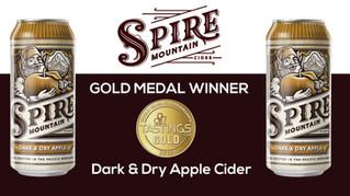 Spire Mountain Dark & Dry Wins Gold