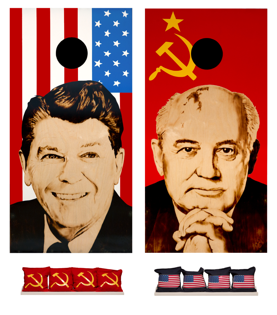 THE COLD WAR CORNHOLE SET