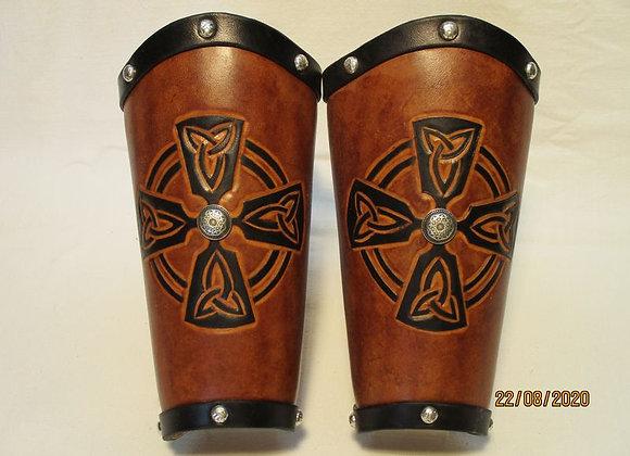 bracelet médiéval croix celtique
