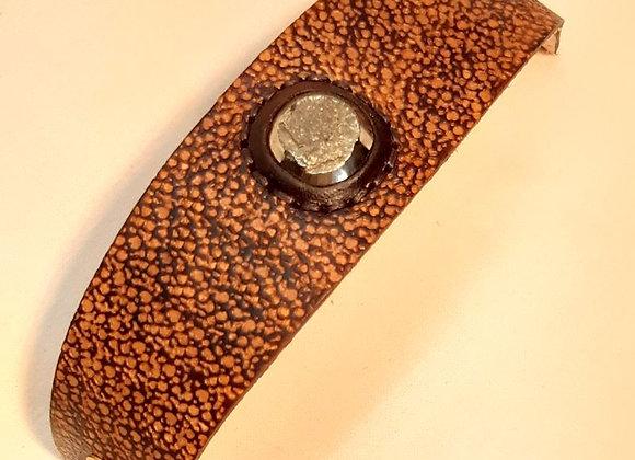 6 - bracelet avec pyrite