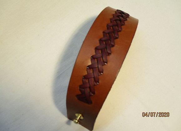 1- bracelet de force avec tressage