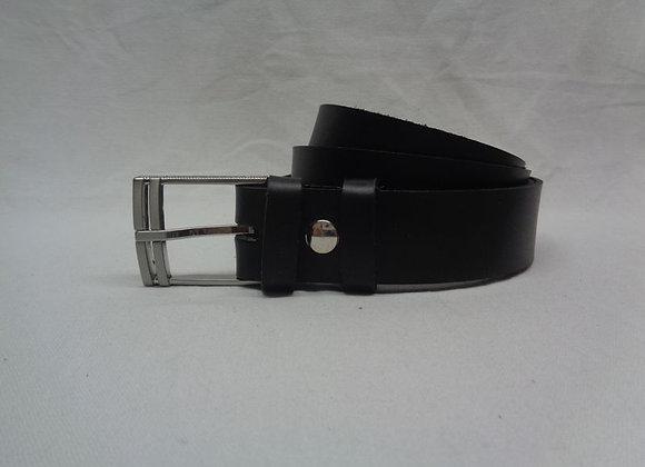 30 ceinture noir L 3,5 cm