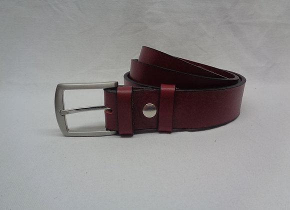 22 ceinture acajou L 3,5 cm