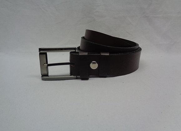 25 ceinture marron foncé L 3,5 cm