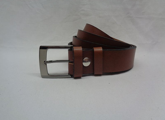 23 ceinture marron clair L 3,5 cm