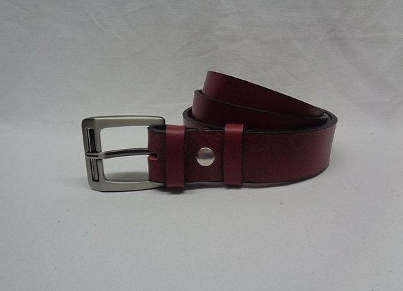 21 ceinture acajou L 3,5 cm