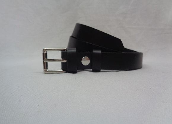 6 ceinture L 2,5 cm noir