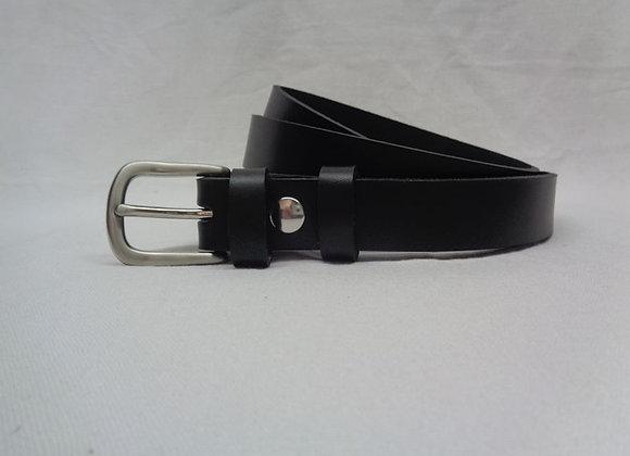 8 ceinture L 2,5 cm noir