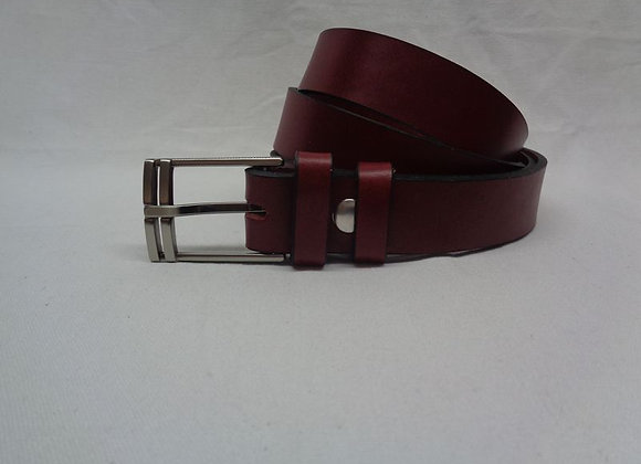 17 ceinture L 3 cm marron clair