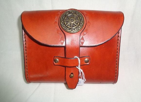57 pochette-ceinture marron