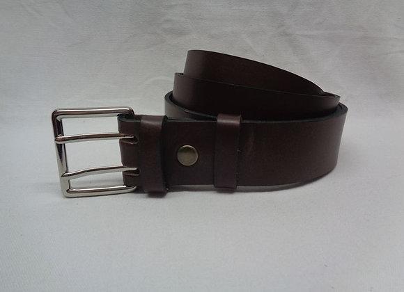 33 ceinture marron L 4 cm