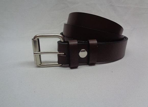 13 ceinture L 3cm marron foncé