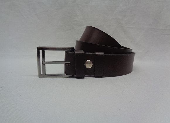 26 ceinture marron foncé L 3,5 cm