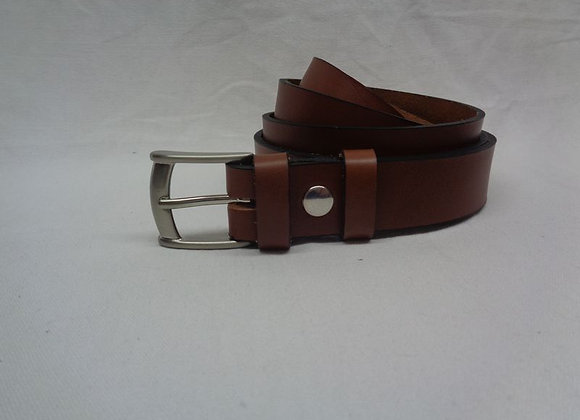 16 ceinture L 3 cm marron clair