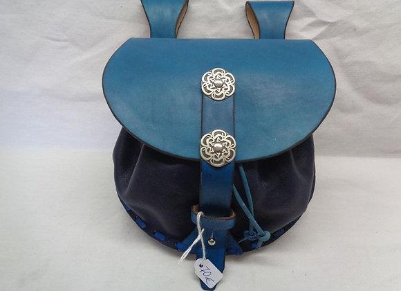 76 escarcelle turquoise
