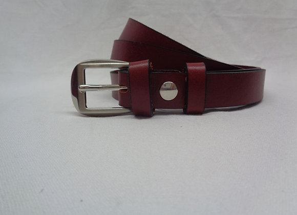 4 ceinture acajou L 2,5 cm