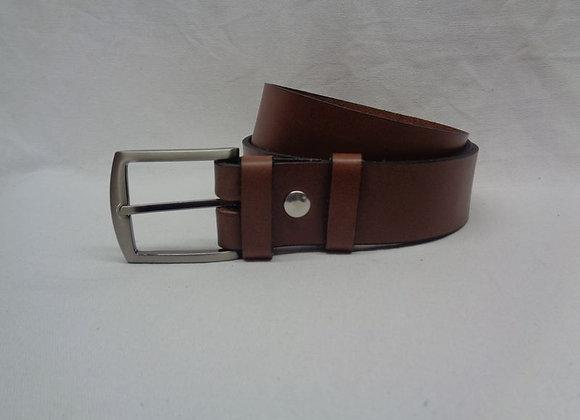 34 ceinture marron clair L 4 cm