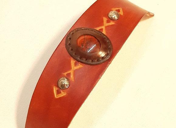 4 - bracelet  jaspe africain