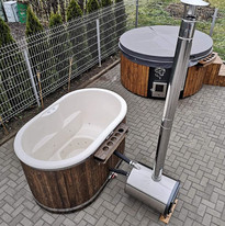 white interior Cotswold Eco Tubs wood fi
