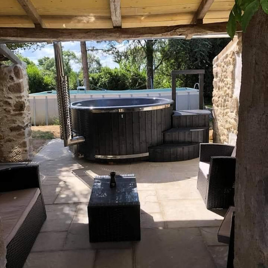 Wood Fired Hot Tub Burford Deluxe Cotswold Eco Tubs