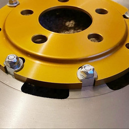 Diamondyze Gold Brake Disc Centre
