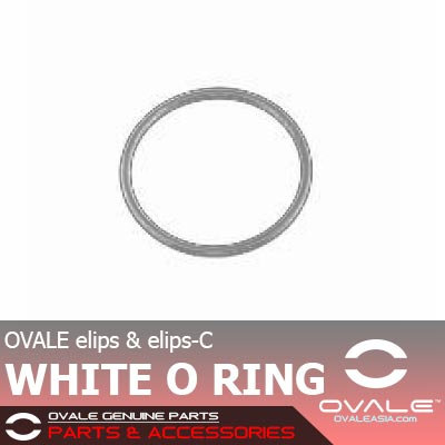 OVALE elips-C White O Ring