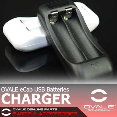 OVALE eCab Batteries USB Charger
