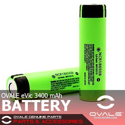OVALE eVic 3400mAh Battery