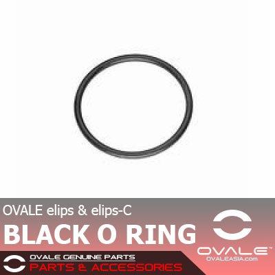 OVALE elips-C Black O Ring