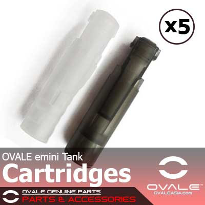 OVALE emini Tank Cartridges (x 5)