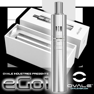 eGo ONE™ 1100 mAh Kit (Silver)