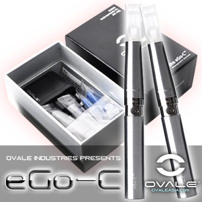 OVALE eGo-C™ Kit (Silver)
