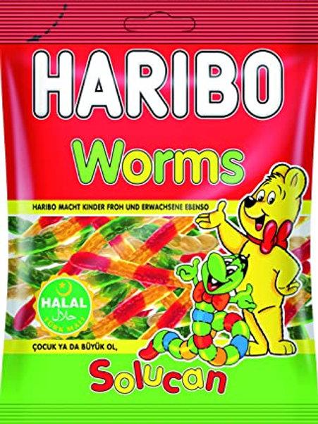 Haribo Würmer Halal 100g