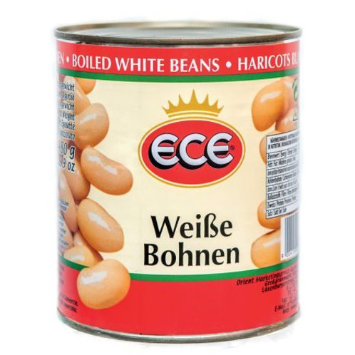 Ece gekochte Weiße Bohnen (800 g)