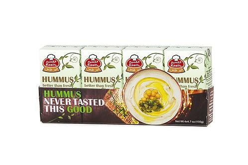 Kasih 4er Pack Hummus Tahina (135 g)