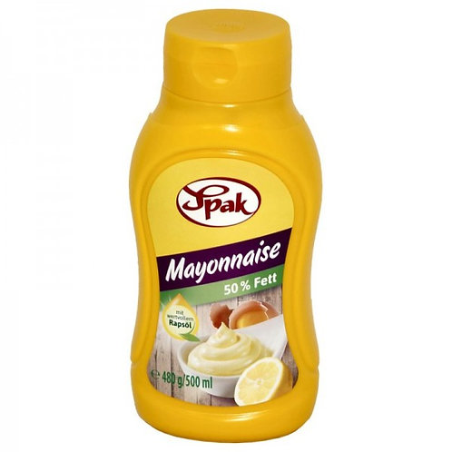 Spak Mayonnaise 50% Fett (480 g)