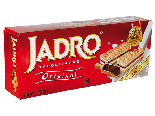 Jadro Haselnusswaffel (430g)