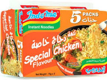 Indomie mit Speziellen Hühnergeschmack (5x70 g)