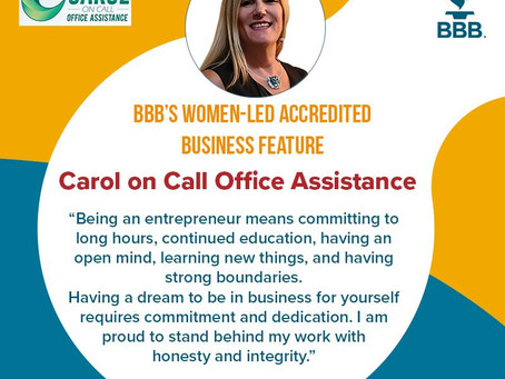 BBB's Women-Led Accredited Business Feature