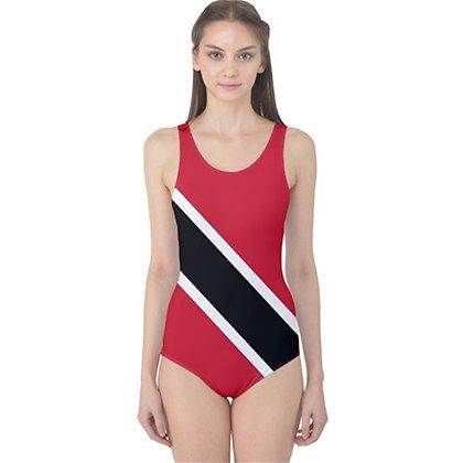 Trinidad and Tobago Flag One Piece Swimsuit Bikini