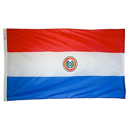 "Paraguay Flag ""3x5"""