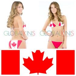 Canada Flag Bikini