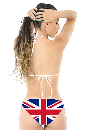 United Kingdom Flag Bikini Bottoms