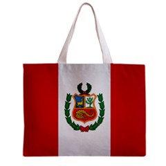 Peru Flag Tote Bag w/ Zipper.