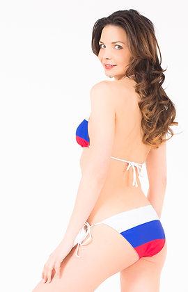 Russia Flag Bikini Bottoms