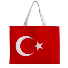 Turkey Flag Tote Bag w/ Zipper.