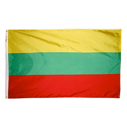 "Lithuania Flag ""3x5"""